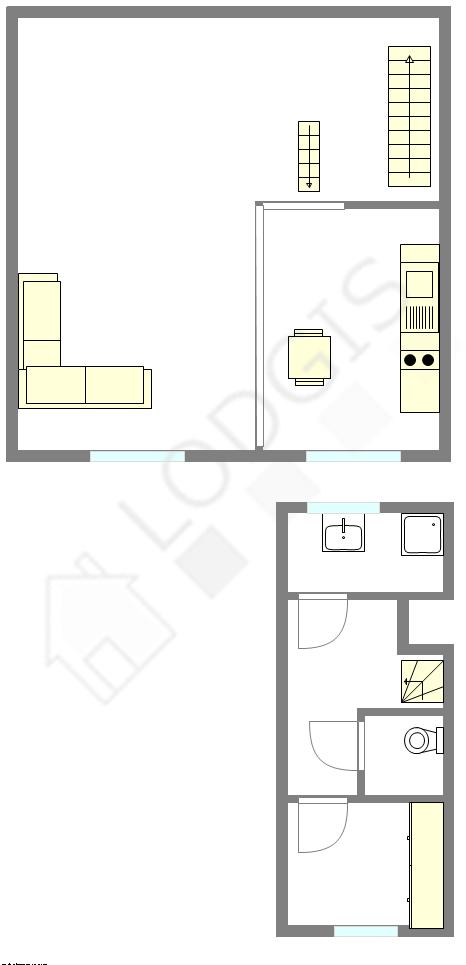 Duplex Seine st-denis Nord - Interactive plan