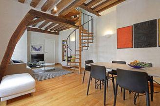 Le Marais 巴黎3区 2个房间 公寓
