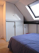 Duplex Paris 9° - Chambre