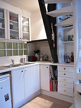 dúplex París 9° - Cocina