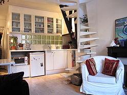Duplex Paris 9° - Séjour
