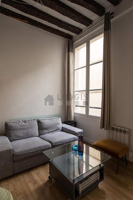Location studio paris 4 rue simon le franc meubl 26 m h tel de ville beaubourg - Hotel meuble au mois nice ...