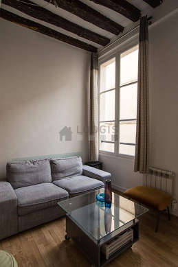 Séjour calme équipé de télé, 3 chaise(s)