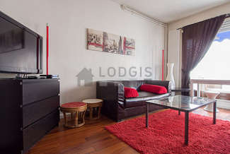 Auteuil Paris 16° studio with alcove