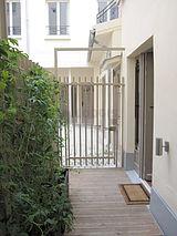 Maison individuelle Paris 15° - Terrasse