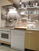 雙層公寓 巴黎2区 - 廚房