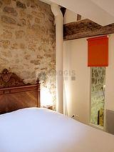 Duplex Paris 2° - Chambre