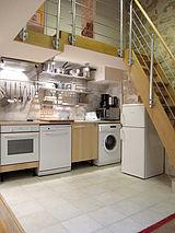 Duplex Paris 2° - Cuisine