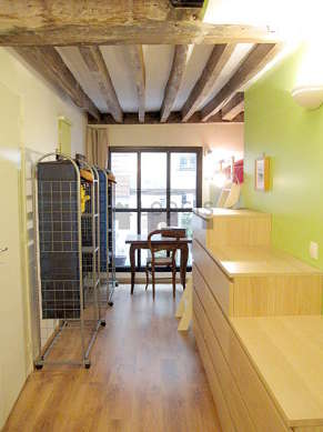 Duplex Paris 2° - Chambre 2