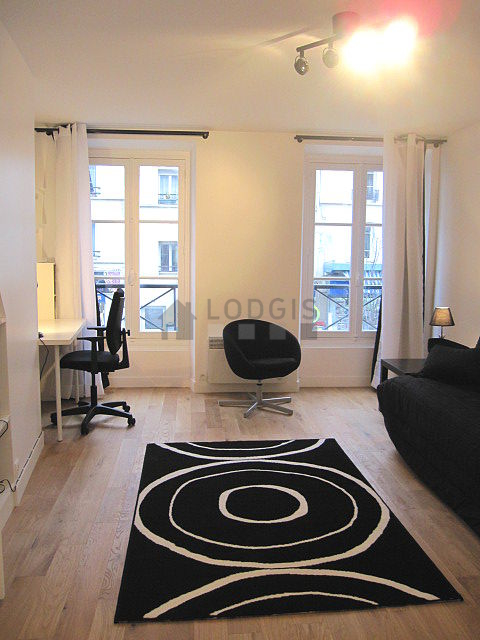 Location studio paris 20 rue d 39 avron meubl 27 m for Location appartement meuble paris