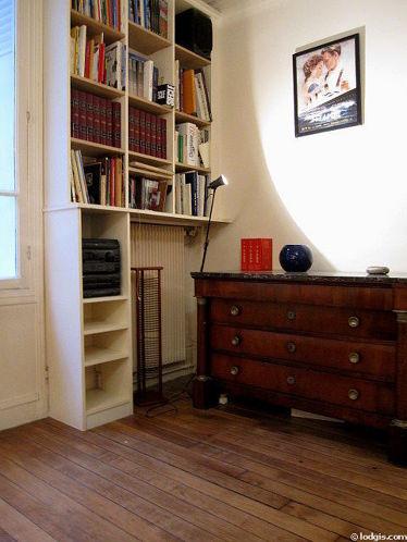 Chambre pour 2 personnes équipée de 1 lit(s) mezzanine de 110cm