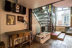 Duplex Paris 4° - Séjour