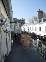Apartment Paris 2° - Terrace