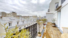 Apartamento Paris 9° - Terraça