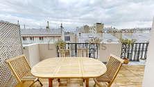 Apartment Paris 9° - Terrace