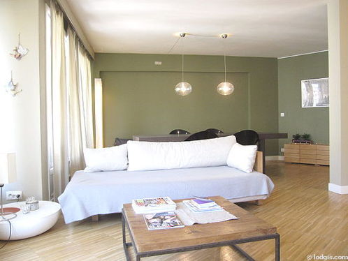 Séjour d'un appartement à Paris