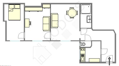 公寓 巴黎17区 - 互動圖