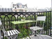 Wohnung Paris 9° - Terasse