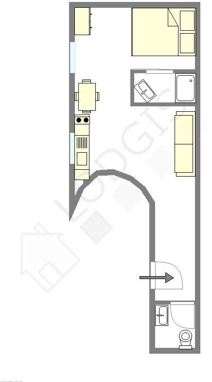 公寓 巴黎10区 - 互動圖