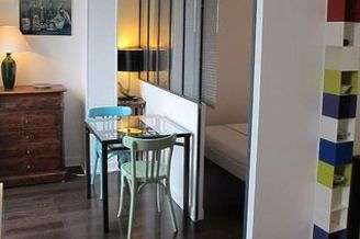 Studio avec alcôve Paris 13° Gobelins – Place d'Italie