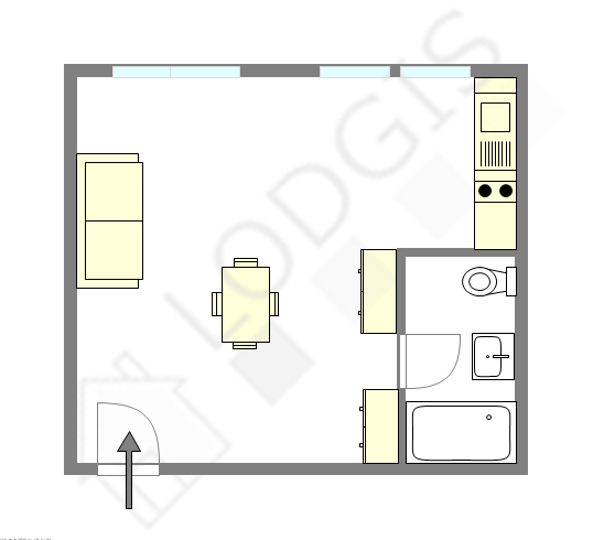 Apartamento Seine st-denis Nord - Plano interativo