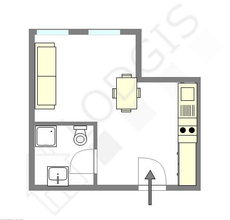 公寓 Seine st-denis Nord - 互動圖