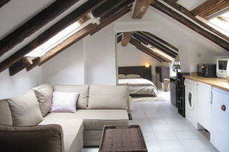 Châtelet – Les Halles Paris 1° Estúdio com espaço dormitorio