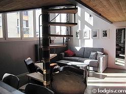 双层公寓 巴黎19区 - 客厅