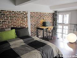 双层公寓 巴黎19区 - 双层床铺
