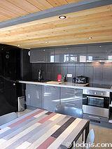 雙層公寓 巴黎19区 - 廚房