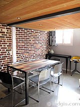双层公寓 巴黎19区 - 厨房