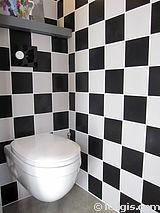 双层公寓 巴黎19区 - 厕所