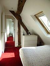 Duplex Paris 5° - Bedroom 2