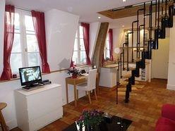 Duplex Paris 5° - Living room