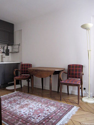 Séjour très calme équipé de canapé, 2 chaise(s)