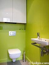 アパルトマン パリ 9区 - トイレ