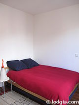 アパルトマン パリ 20区 - ベッドルーム