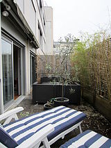 Apartamento París 8° - Terraza