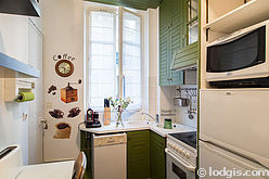 Apartment Paris 16° - Kitchen