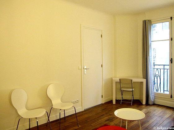 Location studio avec ascenseur et concierge paris 16 rue vital meubl 25 m trocad ro passy for Location studio meuble paris 16