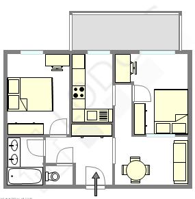Wohnung Val de marne sud - Interaktiven Plan