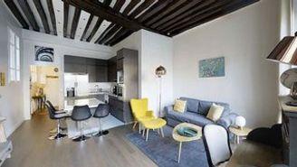 Квартира Rue Saint-Antoine Париж 4°