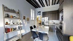 Apartment Paris 4° - Kitchen