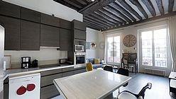 Appartement Paris 4° - Cuisine