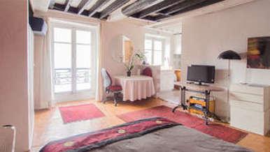 Buttes Chaumont 巴黎19区 单间公寓