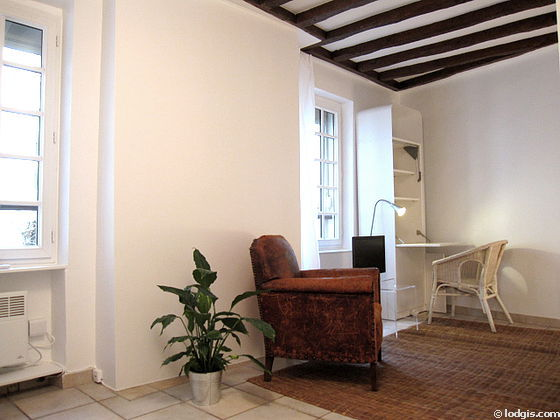 paris jardin des plantes rue de blainville monthly furnished rental studio 25 m. Black Bedroom Furniture Sets. Home Design Ideas