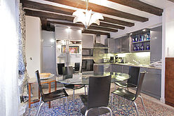 Дуплекс Париж 1° - Кухня