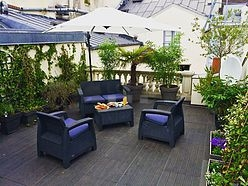 Duplex Paris 1° - Terrace