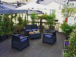 Duplex Paris 1° - Terrasse