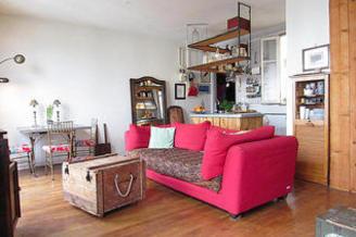 Wohnung Rue Des Solitaires Paris 19°